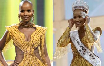 """Vẻ đẹp của cô gái không tóc đăng quang """"Hoa hậu Nam Phi 2020"""""""