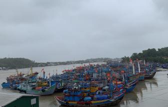 Quảng Ngãi, Bình Định, Phú Yên đồng loạt cho học sinh nghỉ học chuẩn bị ứng phó bão số 9