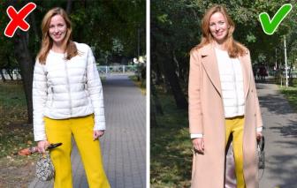 Cách biến quần áo lỗi mốt trở nên thời trang