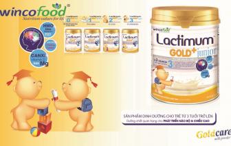 Lactimum Gold+ Junior -  Dinh dưỡng vàng cho trẻ lên 3 tăng cường đề kháng mùa dịch bệnh