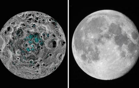 [Video] NASA khẳng định có nước trên... Mặt trăng