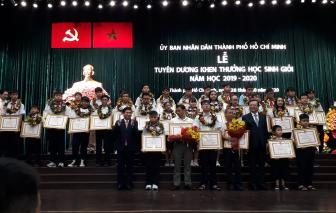 TPHCM tuyên dương 943 học sinh giỏi tiêu biểu