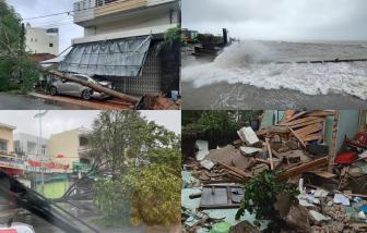 Clip: Sức tàn phá kinh hoàng của bão số 9 tại miền Trung