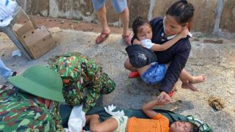 Những hình ảnh mới nhất từ hiện trường vụ sạt lở vùi lấp nhiều người ở Trà Leng