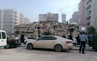 Động đất mạnh tại Thổ Nhĩ Kỳ và Hy Lạp, hơn 120 người thương vong