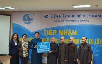 Hội Liên hiệp Phụ nữ Việt Nam huy động hơn 20 tỷ đồng ủng hộ miền Trung