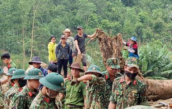 Sạt lở ở Trà Leng: Tìm thấy thêm 2 thi thể, tăng cường chó nghiệp vụ và flycam tìm kiếm