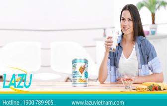 Sữa Lazu - một thương hiệu về chăm sóc sức khỏe
