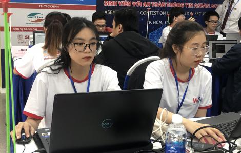 Sinh viên bảy nước Đông Nam Á tranh tài làm... hacker