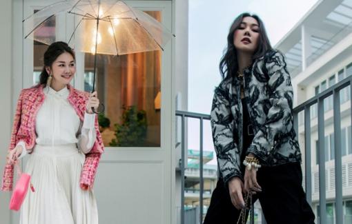 Thanh Hằng gợi ý cách phối đồ ngày trở lạnh với loạt trang phục hot