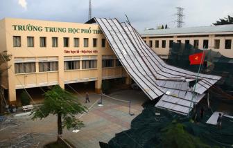 Đề xuất sử dụng 2,9 tỷ đồng quỹ phòng chống thiên tai sửa Trường THPT Bình Phú