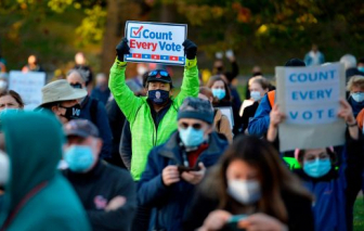 Vì sao cuộc bầu cử Mỹ vẫn chưa có kết quả cuối cùng?