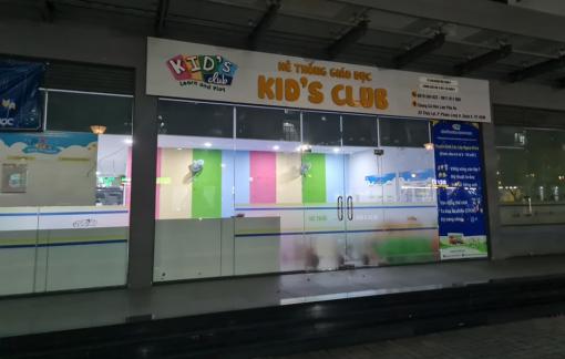 Đình chỉ hoạt động một cơ sở mầm non của Kid's Club vì hoạt động không phép