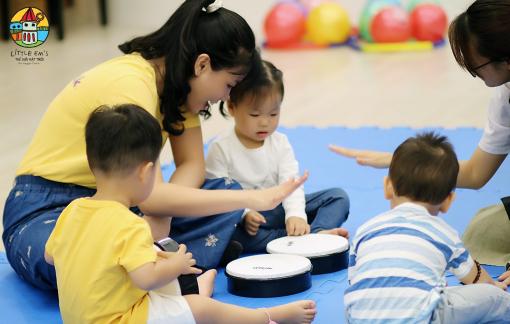 Trường mầm non để trẻ phát triển tự nhiên, linh hoạt