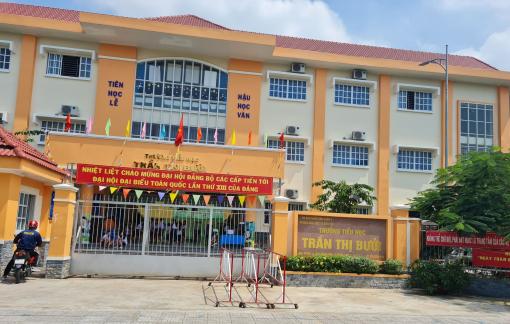 Yêu cầu Trường tiểu học Trần Thị Bưởi gắn camera giám sát khu vực bếp ăn