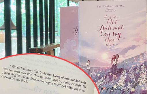 Câu thơ Việt thành tựa truyện ngôn tình Trung Quốc: Hành xử kiểu nửa vời
