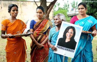 Kamala Harris tạo cảm hứng cho bình đẳng giới trong chính trường Ấn Độ