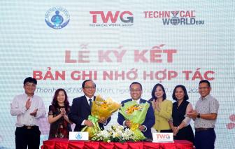 Bệnh viện Nhi Đồng 1 hợp tác chăm sóc sức khỏe cho hệ thống trường thuộc Tập đoàn TWGroup