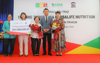 Quỹ Herbalife Nutrition Foundation tiếp tục hỗ trợ dinh dưỡng cho hơn 800 em nhỏ có hoàn cảnh khó khăn trên toàn quốc
