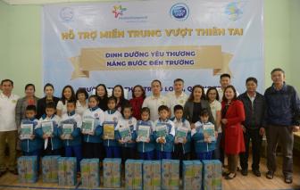 Sữa Cô Gái Hà Lan về vùng rốn lũ, nâng bước đến trường cho hơn 1.700 học sinh tỉnh Quảng Trị