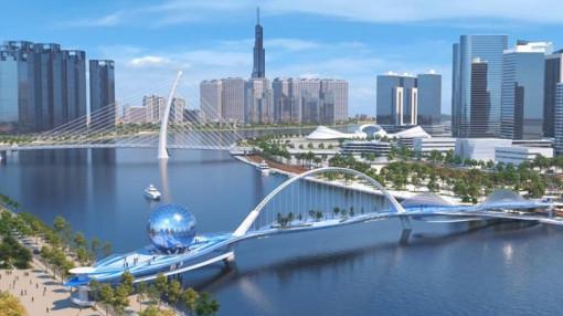 Hoàn tất nghiên cứu xây dựng cầu Thủ Thiêm 3, 4 và cầu đi bộ bắc qua sông Sài Gòn
