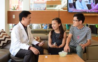 Thầy giáo Nam Định 25 năm không khép được miệng đã tìm thấy hạnh phúc