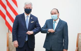 Hợp tác thương mại là trọng tâm, động lực trong phát triển quan hệ Việt Nam-Hoa Kỳ