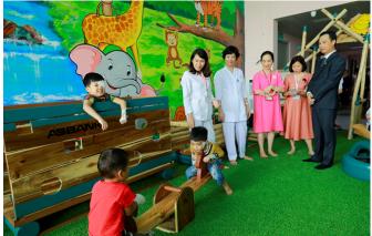 ABBANK trao tặng khu vui chơi cho bệnh nhi tại Bệnh viện Nhi Trung ương Hà Nội