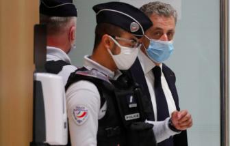 Hoãn phiên toà xét xử cựu Tổng thống Pháp Nicolas Sarkozy vì tội tham nhũng