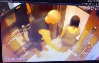 Người đàn ông nước ngoài vỗ mông phụ nữ trong thang máy bị phạt 200 ngàn đồng