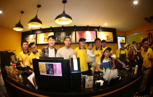 Cà phê Ông Bầu khai trương quán đầu tiên tại Hải Dương