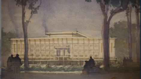 Theo dấu Sài Gòn qua những bức tranh ký họa
