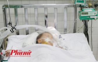 Bé 3 tuổi nghi bị bạo hành chấn thương sọ não, dập lách