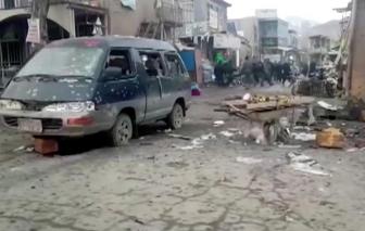 Nổ bom kép ở Afghanistan làm 59 người thương vong