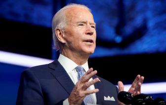 """Ông Joe Biden hứa đưa sẽ Mỹ """"dẫn đầu"""" chứ không phải """"đứng trước"""""""