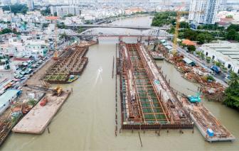 TPHCM vận hành tạm dự án giải quyết ngập do triều cường