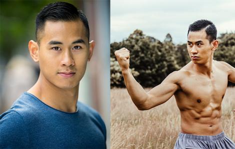 Vẻ điển trai của diễn viên gốc Việt từng tham gia phim Hollywood