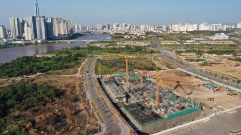 Dân số vùng lõi khu đô thị Thủ Thiêm sẽ tăng gấp 8 lần khi các dự án bất động sản hoàn thành