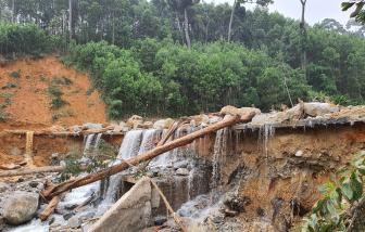 Cảnh báo các tỉnh miền Trung sắp có mưa lớn, nguy cơ gây sạt lở và lũ quét