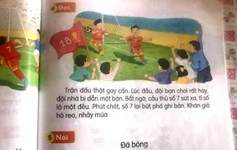 """Tới lượt sách Tiếng Việt lớp Một bộ Kết nối tri thức và cuộc sống bị tố có """"sạn"""""""
