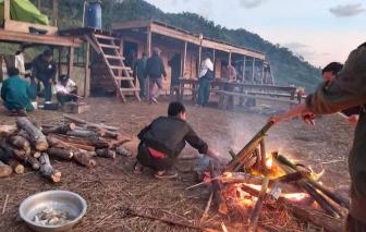 34 người trekking bị kẹt trên núi ở Khánh Hòa