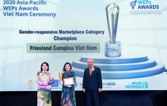 FrieslandCampina Việt Nam tự hào nhận giải thưởng trao quyền cho phụ nữ khu vực châu Á - Thái Bình Dương