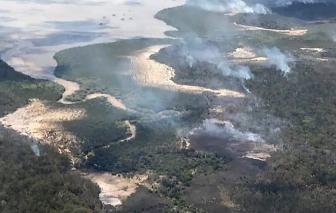 Lửa thiêu rụi gần nửa diện tích hòn đảo di sản của Úc