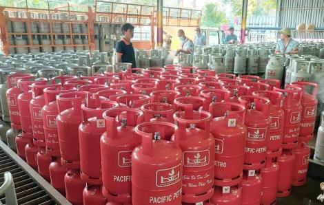 Giá gas tăng thêm 6.500 đồng/bình 12 kg từ 1/12