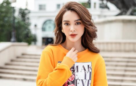 Quỳnh Lương đón đầu xu huớng với phong cách street style ấn tượng