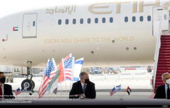 Ả Rập Saudi cho các chuyến bay thương mại của Israel qua không phận