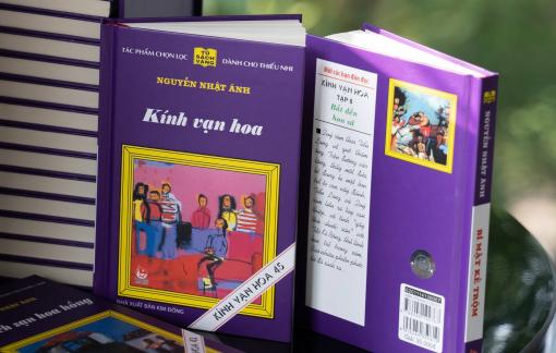"""Nhà văn Nguyễn Nhật Ánh bất bại với """"Kính vạn hoa"""""""