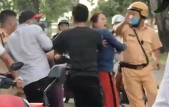 Điều tra vụ nhóm người tấn công CSGT ở TPHCM