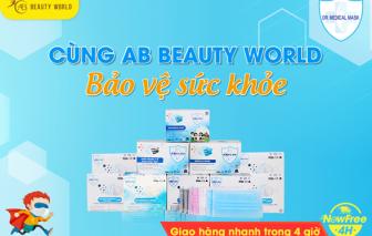 Mở chi nhánh 6, AB Beauty tặng 2.000 hộp khẩu trang chuẩn quốc tế cho khách hàng