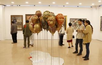 """Tranh, tượng """"bốc hơi"""" tại Triển lãm Mỹ thuật toàn quốc 2020"""